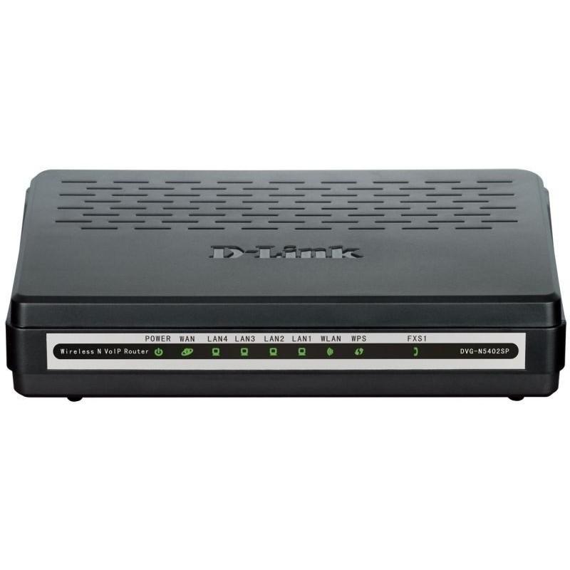 Купить VoIP-Шлюз D-Link DVG-N5402SP/1S 1xFXS_ 802.11n_ 4xFE LAN_ 1xFE WAN