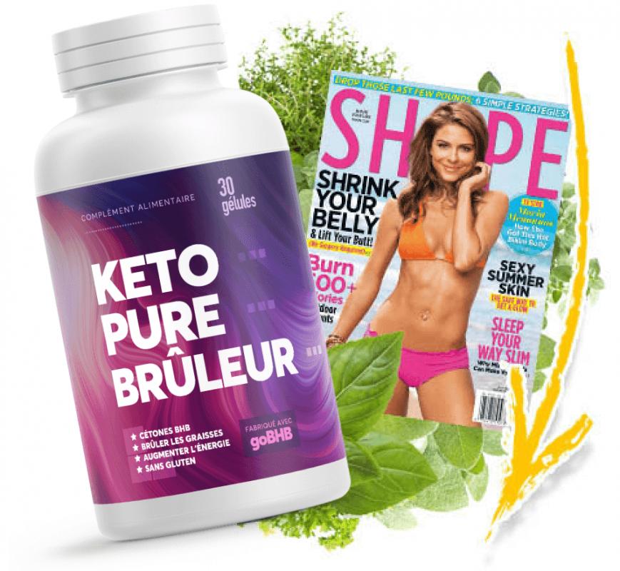 KETO PURE Bruleur (Кето Пьюр Брулар) - капсулы для похудения