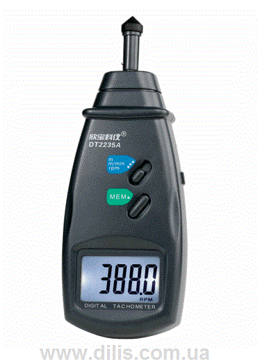 Portable contact tachometer of DT2235A