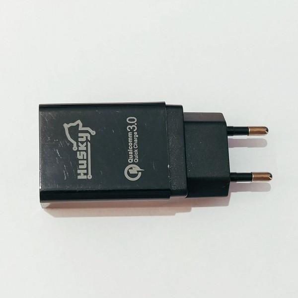 Купить Сетевое зарядное устройство Husky 3.5 A Черный