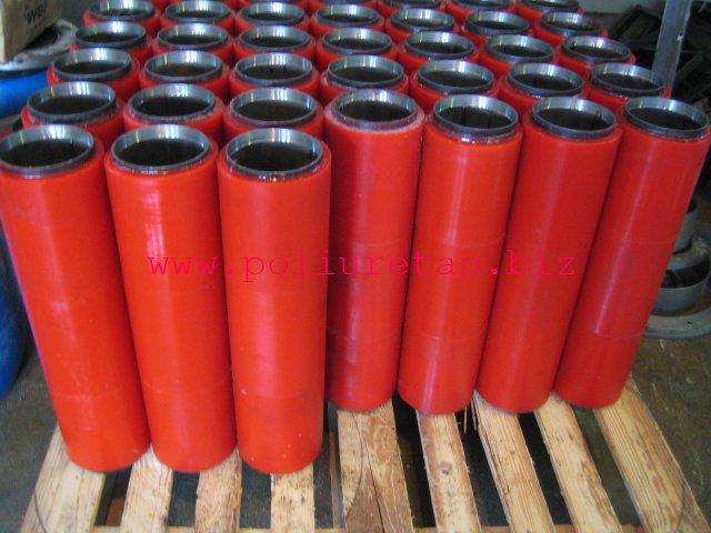 Скребки, направляющие и ролики конвейерные из полиуретана