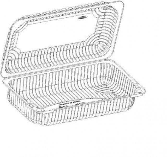 Купить Коробка пластиковая IT-354Ut.11 1450мл (117-1)