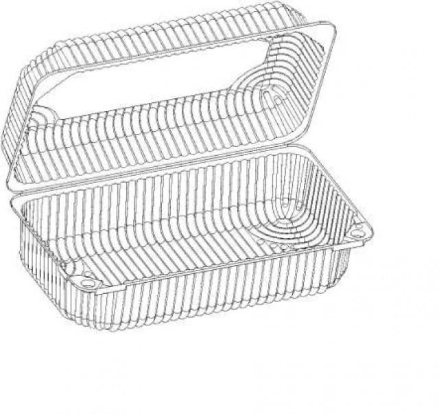Купить Коробка пластиковая IT-356t.17 (50шт) 1,85кг (117-9)