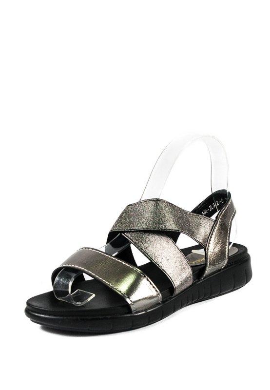 Купить Сандалии женские Prima D'arte HR-2L322-6 серебрянные (40)