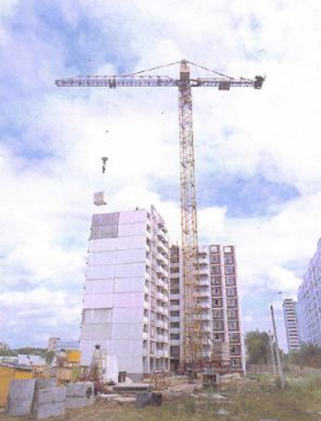 Buy Full-rotary tower crane on rail to the course the KB-676A model