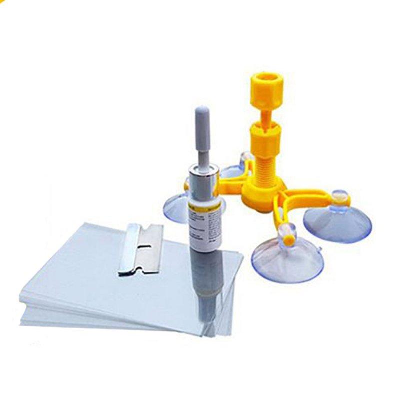 Купить Набор для ремонта трещин лобового стекла Windshield Repair Kit D1001 | комплект для атомобиля