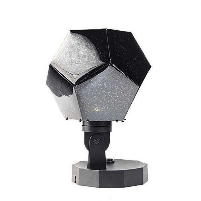 Купить Ночник Созвездие Cosmos Adult of Science ЧЕРНЫЙ   Проектор звездного неба