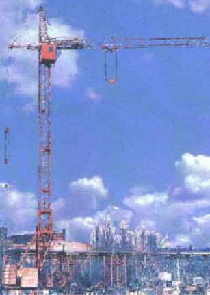 Buy Full-rotary tower crane on rail to the course the KB-308A model