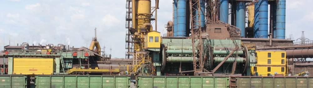 Комплекс передвижной разгрузочный для выгрузки сыпучих материалов из четырехосных полувагонов парка МПС и заводского парка , пр-во Днепротяжмаш, Украина