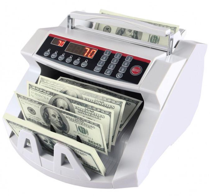 Купить Счетчик банкнот Bill Counter 2108 c детектором UV | cчетная машинка + детектор валют
