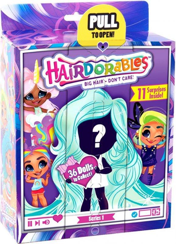 Купить Hairdorables Dolls Куколка Сюрприз с роскошными волосами scs   кукла Хэрдораблс