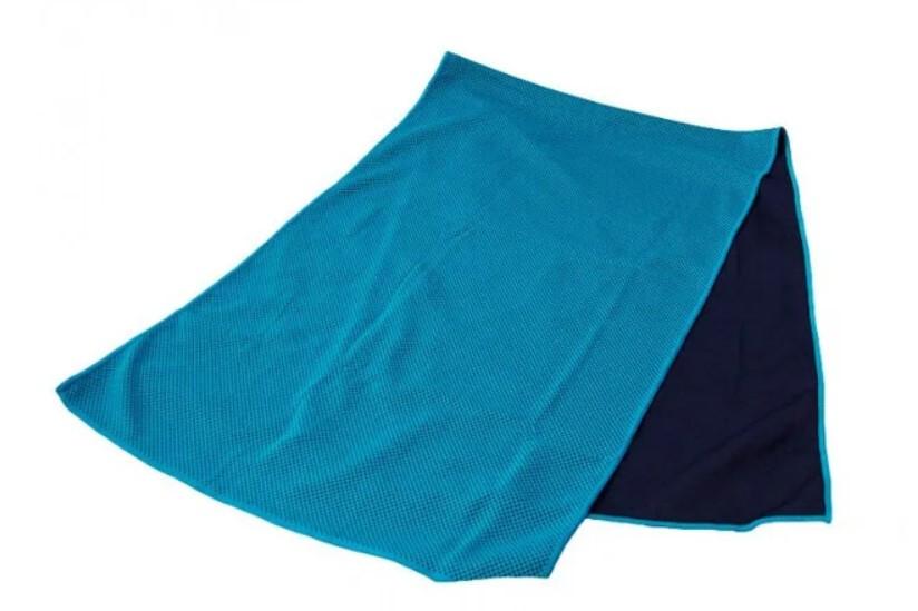 Купить Охлаждающее полотенце ГОЛУБОЕ LiveUp Cooling Towel   Полотенце для спорта