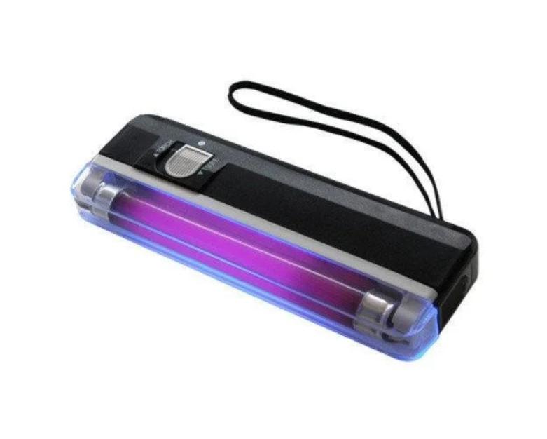 Купить Детектор валют DL01 портативный | Карманный ультрафиолетовый детектор валют | Лампа для проверки денег