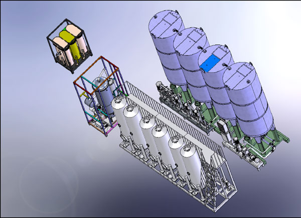 Купить Установка биодизельная УБТ-4, производства биодизеля (biodiesel) в потоке производительностью 88000 литров в сутки (производство биодизеля из любых растительных масел и животных жиров)