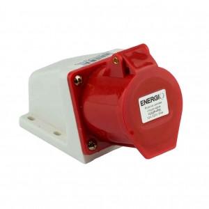 Купить Розетка 123 2P+PE 32A 220В IP44 стационарная силовая