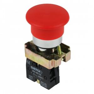 Купить Кнопка Грибок красная NC XB2-BC42