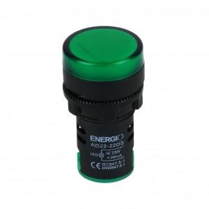Купить Индикатор ЛЕД AD22-22DS/G 220В зеленый