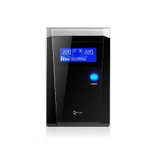 Купить ИБП с правильной синусоидой RITAR RTSW-600 LCD 12В под внешний АКБ Q4 Черный