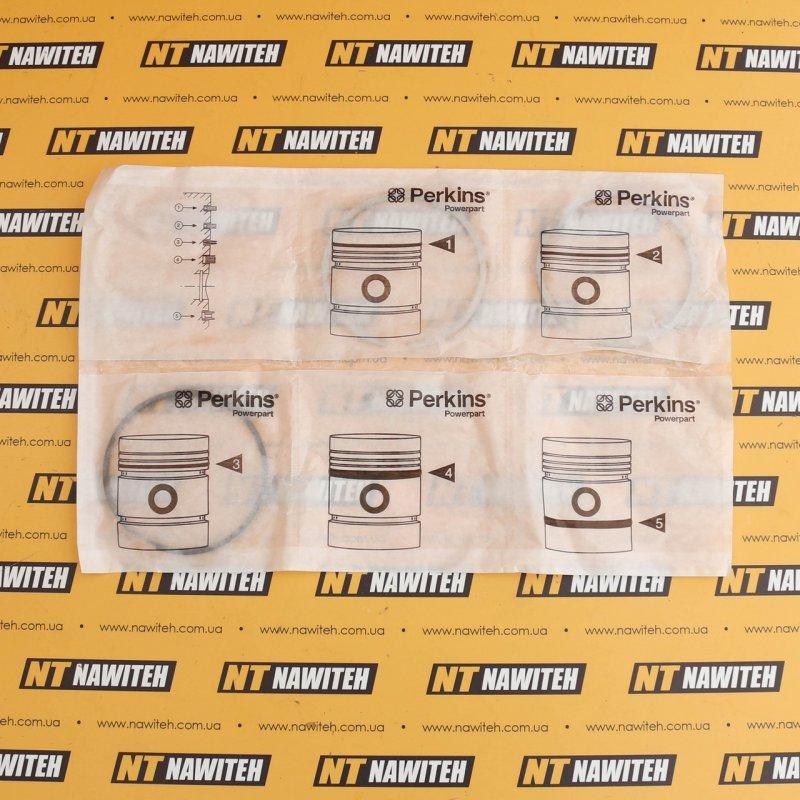 Купить Кольца поршневые JCB (комплект) 100 mm для двигателей PERKINS Оригинал