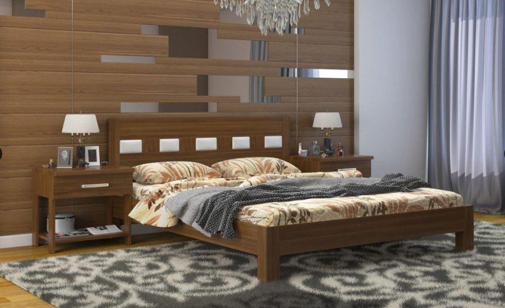 Купить Кровать Диана дуб с подъемным механизмом Микс орех лесной