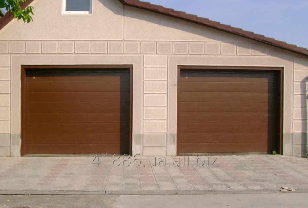 Купить Ворота гаражные секционные монтаж Винница