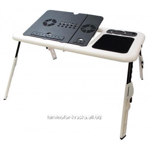Купить Подставка столик для ноутбука с двумя USB кулерами
