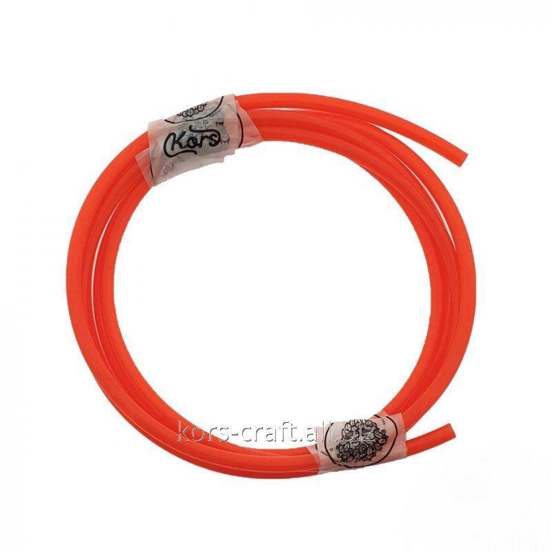 Купить Шланг полиуретановый красный 8х5.5 мм.