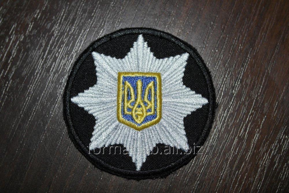 Купить Кокарда Полиции Пришивная