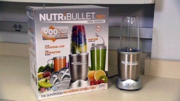 Купить Экстрактор питательных веществ (Nutribullet Pro) Нутрибуллет Про 900 Вт