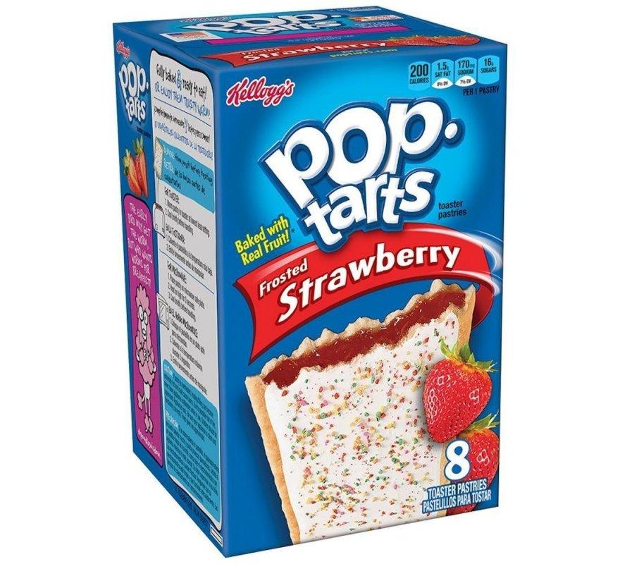 Купить Тосты Pop-Tarts Strawberry 416g