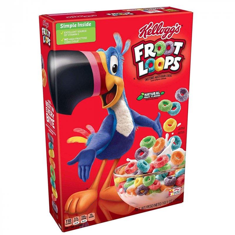 Купить Хлопья Froot Loops 286g