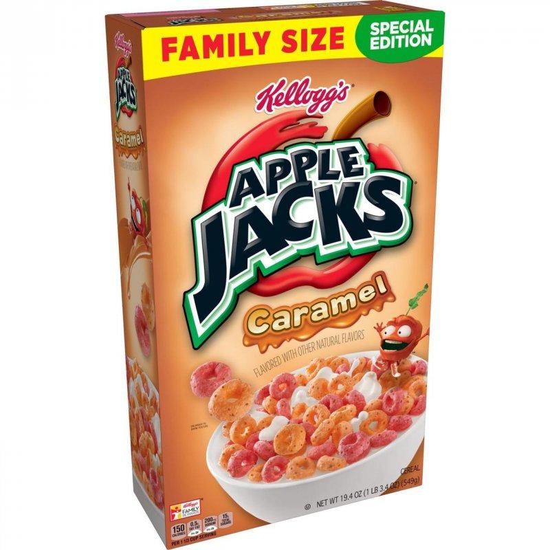 Купить Хлопья Kellogg's Apple Jacks Caramel 549g