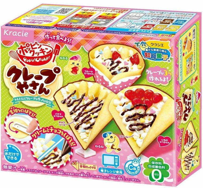 """Купить Японский набор """"Сделай сам"""" Kracie Popin Cookin Crepe Shop (Десерт) 27g"""