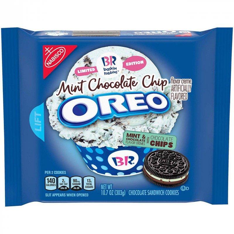Купить Oreo Mint Chocolate Chip 303g