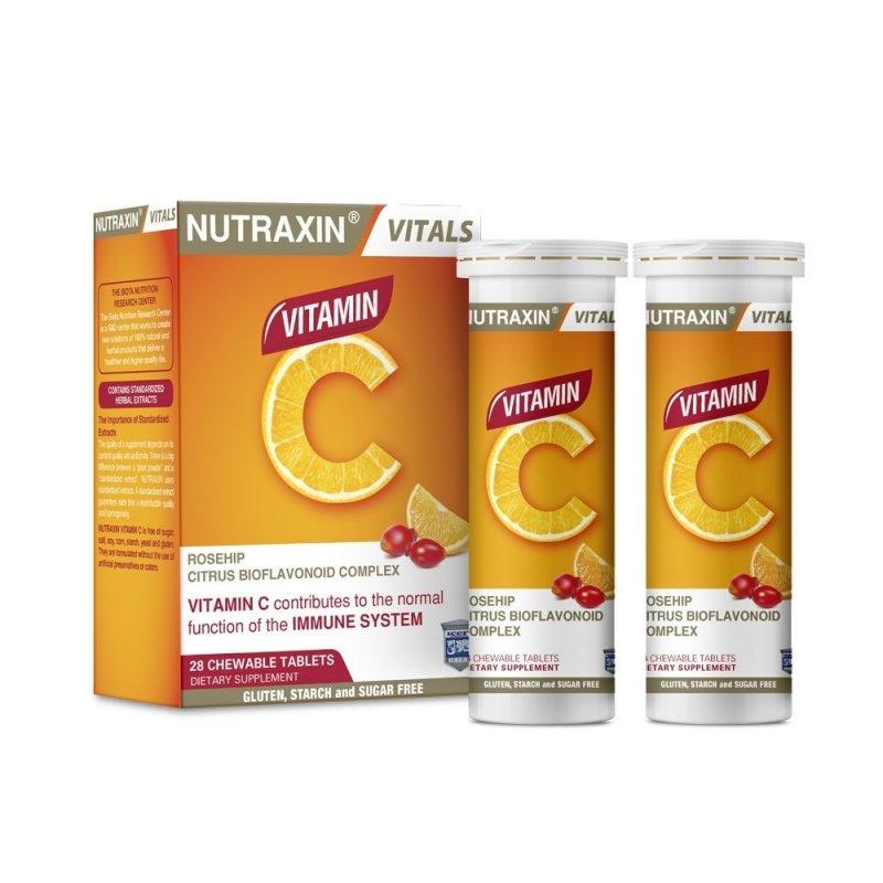 Витамин C NUTRAXIN Для иммунной системы, 28 таблеток