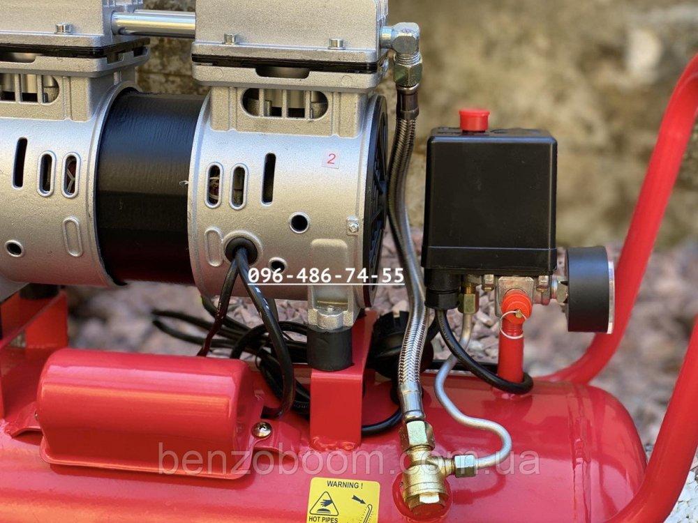 Купить Безмасляный компрессор Lex LXAC 24л воздушный 180л/мин 2 цилиндра