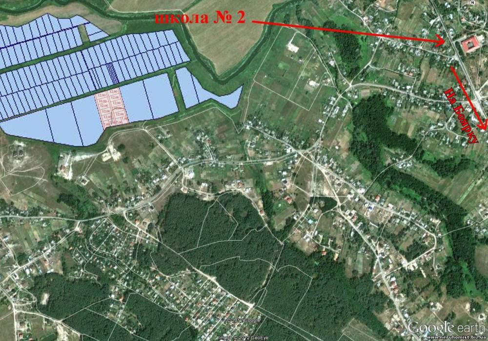Белогородка, участки 12, 6, 7 и 7,5 соток. Киево-Святошинский район участки под строительство