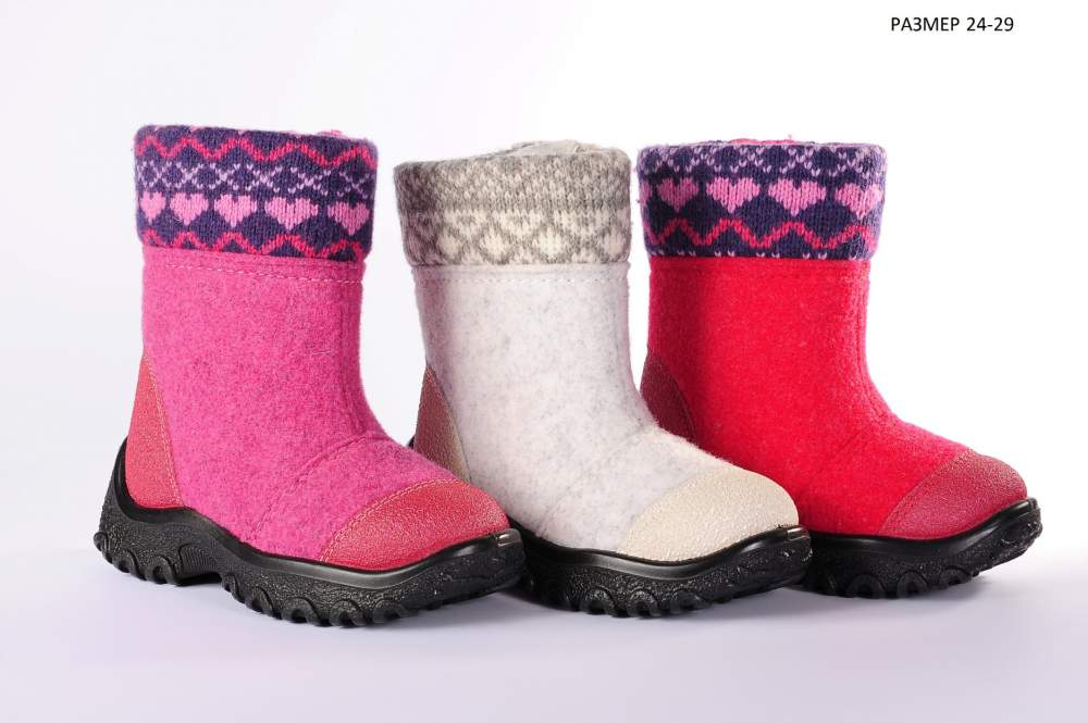 Обувь детская зимняя f07104599015e