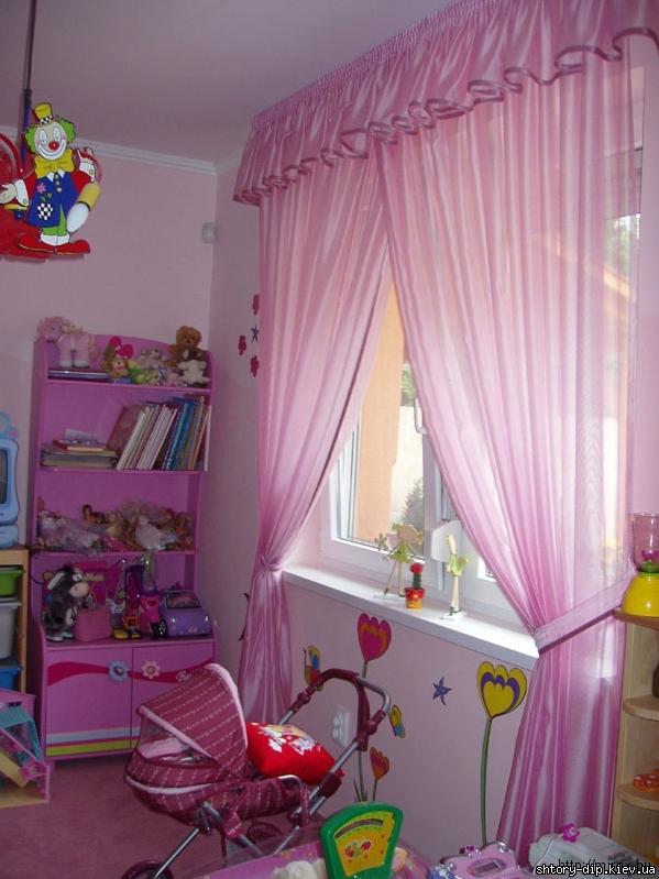 Шторы в детскую комнату киев шторы