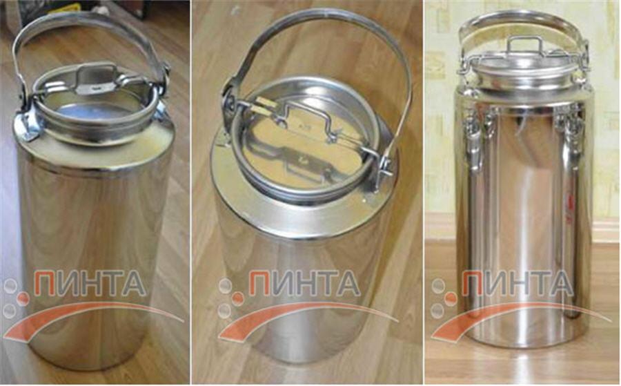 Бидон для молока объемом от 15 литров. емкости нержавеющи по GC96