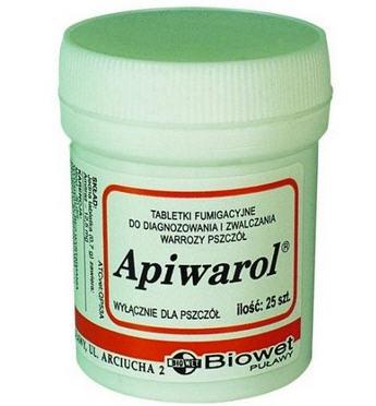 Апиварол | Препарати ветеринарні для бджіл