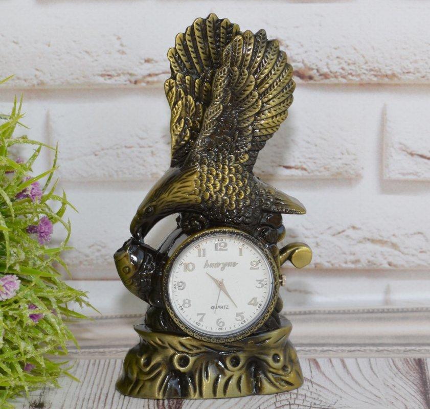 Купить Настольные часы с зажигалкой Орёл бизнес подарок