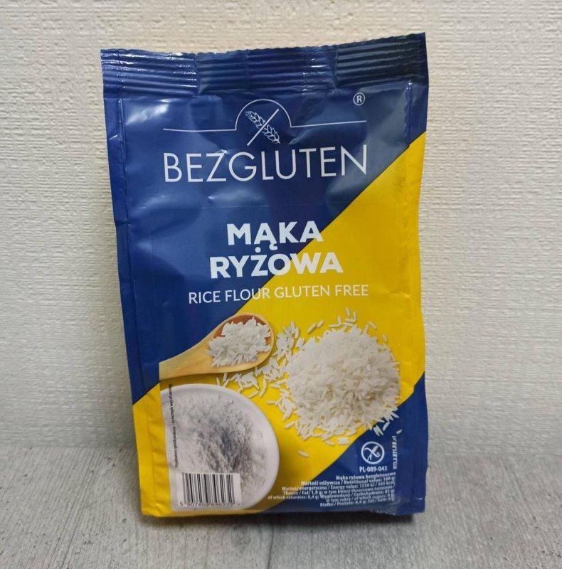 Купить Мука Bezgluten рисовая 500г