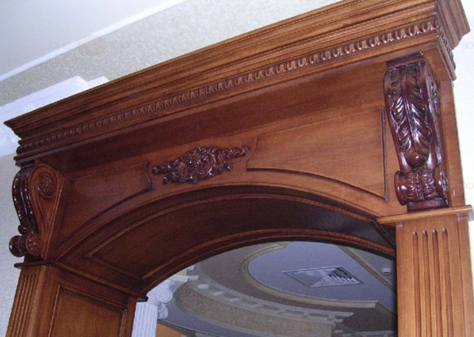 Портал арка из дерева