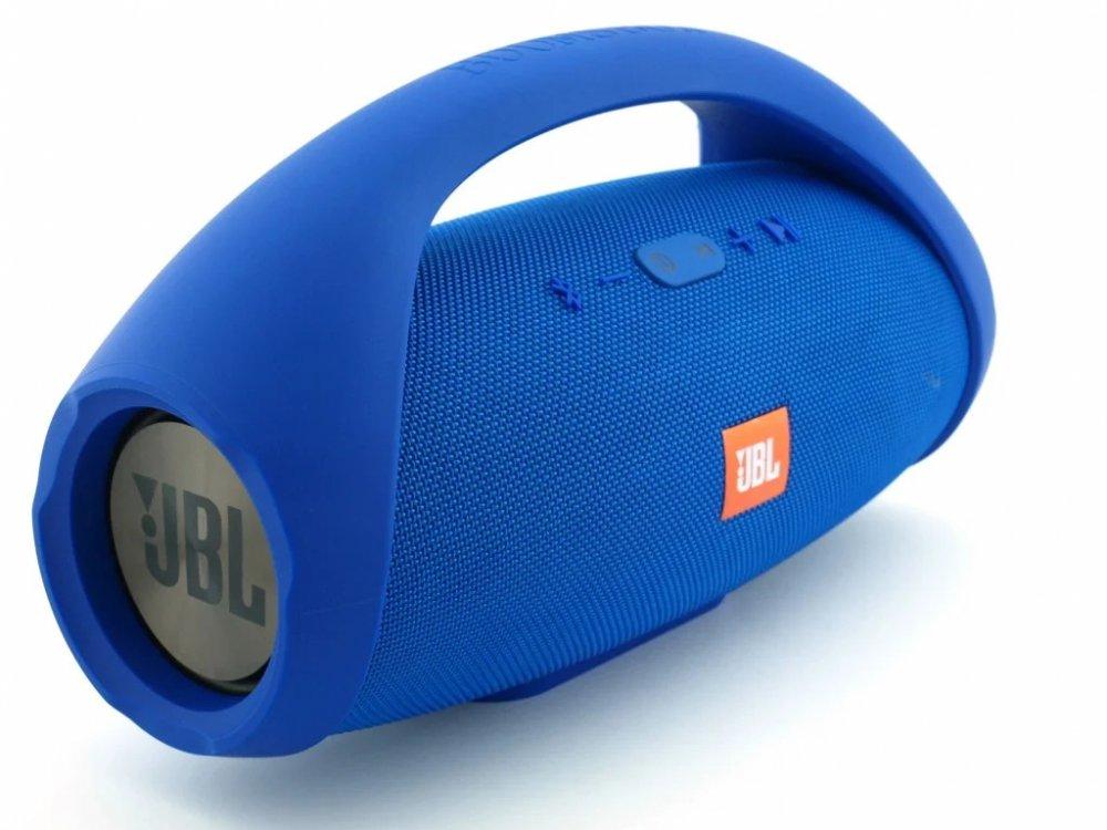 Блютуз колонка JBL Boombox 40W BIG super bass влагозащищенная Синий