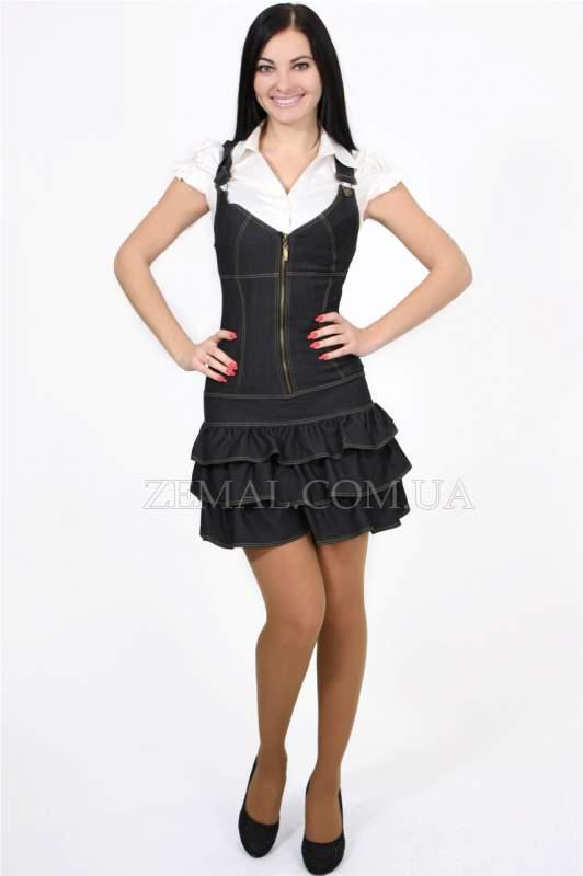 Сарафаны джинсовые PL1-070 : Земал, ООО (Zemal Collection) : ALL