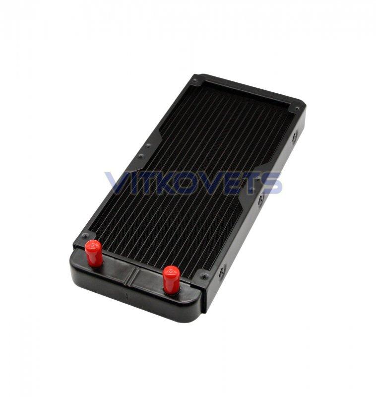 Купить Радиатор 275х120 (под вентиляторы 120х120)