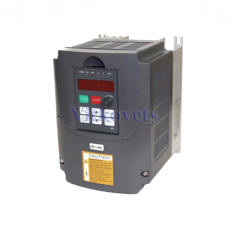 Купить Инвертер (VFD) HY03D043B, 3KW 8А 380V три фазы