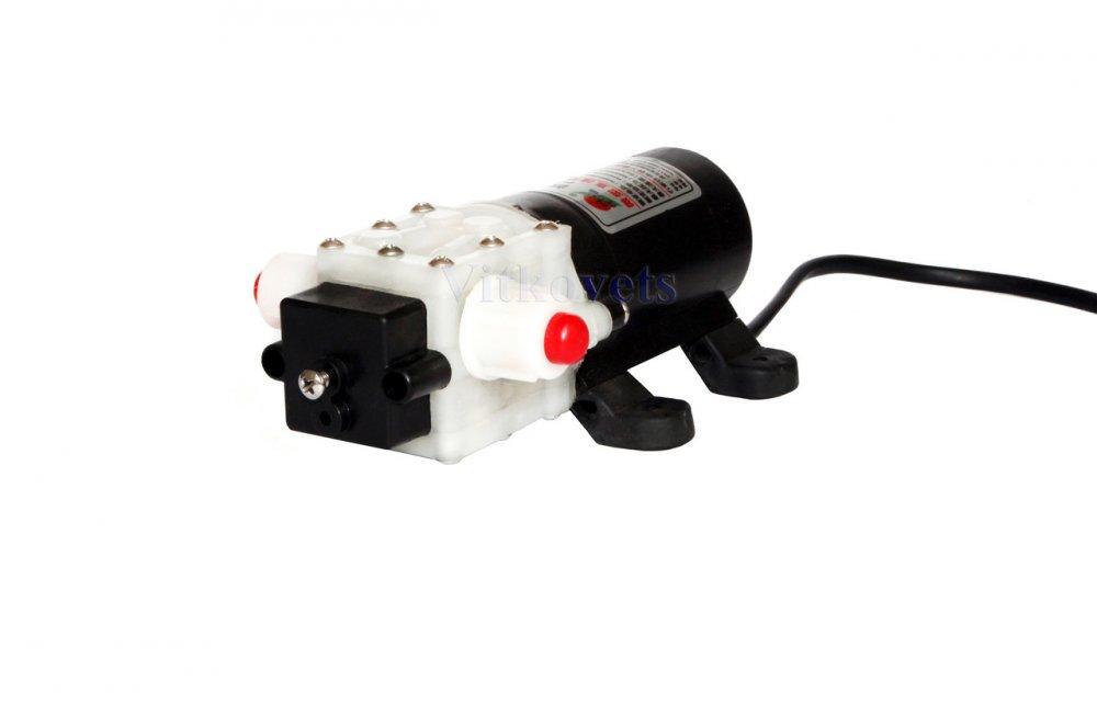 Купить Мембранный водяной насос 45W 12V DC 4L/min для охлаждения шпинделя