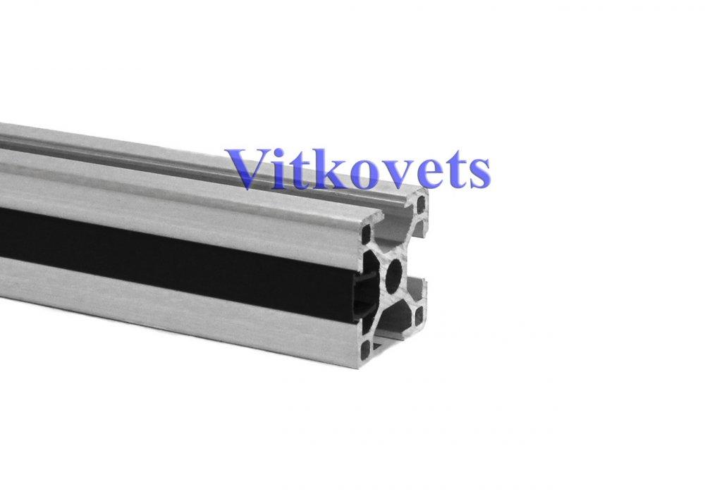 Купить Линейная заглушка для алюминиевого профиля 8х2000мм (черная)